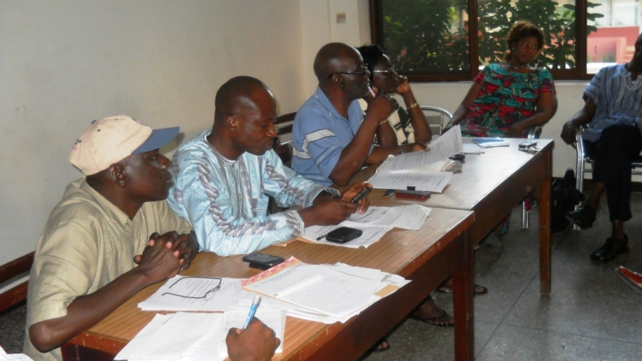 NDF at one of it's meetings in accra 2
